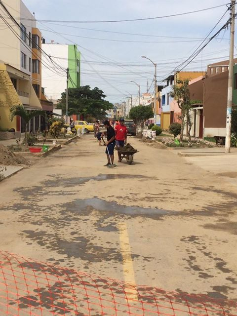 Jornada cívica de limpieza en Trujillo