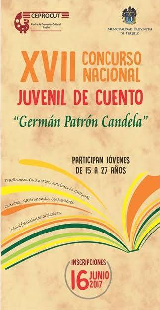 Concurso Juvenil de Cuento Germán Patrón Candela
