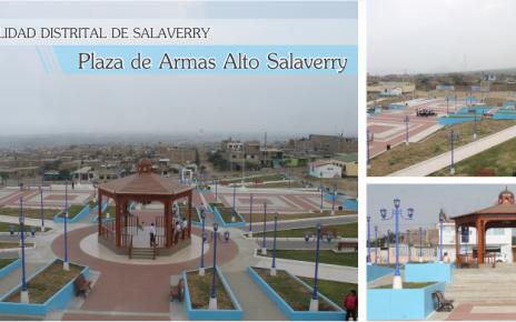 Plaza de armas Salaverry