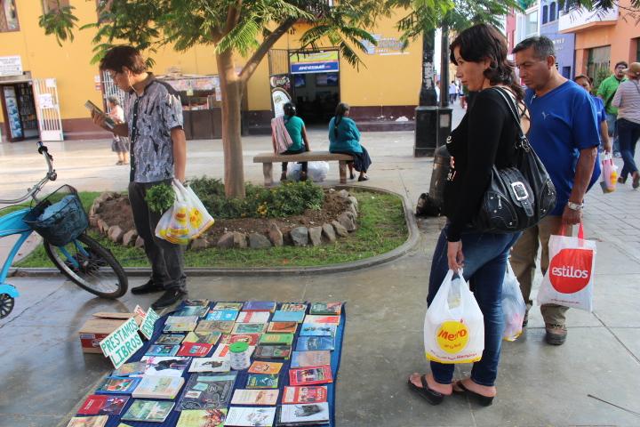 Minibibliotecas Trujillo Perú