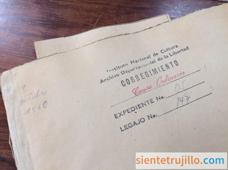 Archivo histórico de Truxillo