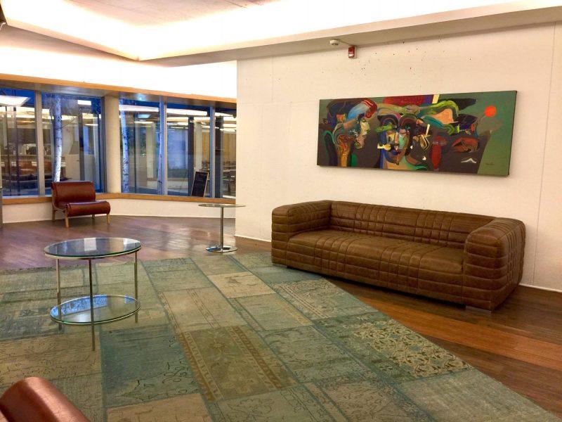 Sala de Arte de la Facultad de Ingeniería de la Pontificia Universidad Católica de Chile