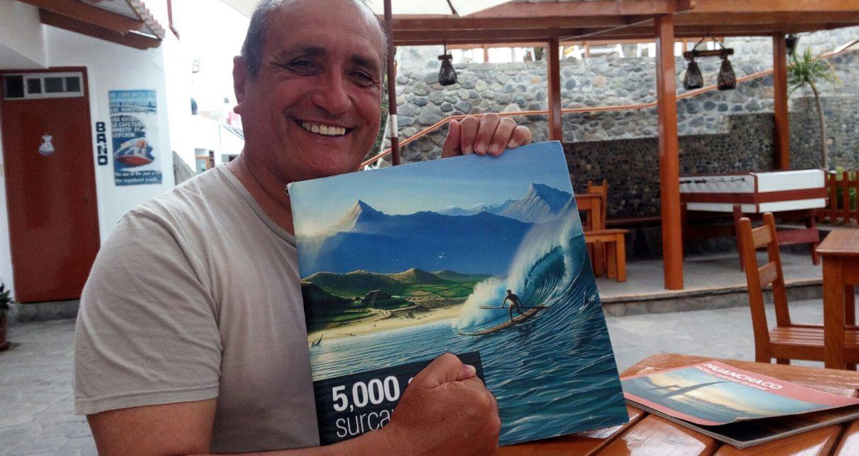 Carlos Antonio Ferrer surf Huanchaco