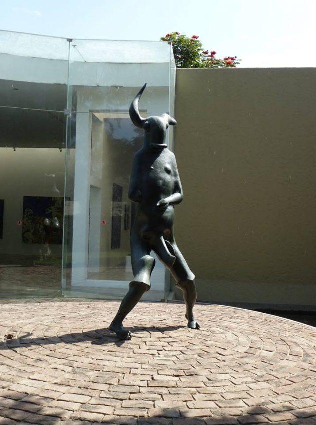 Fauno Museo de Arte Moderno de Trujillo