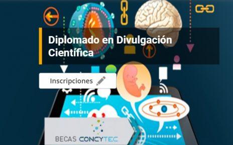 diplomado en Divulgación Científica en el Perú