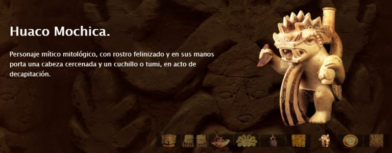 captura de pantalla de la web del investigador Cristóbal Campana Delgado