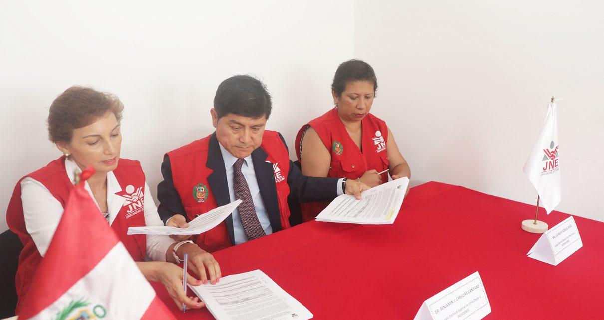 Jurados electorales especiales