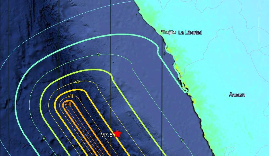 litoral trujillano tsunami