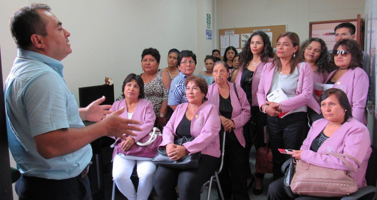 CITEccal Trujillo día de la mujer