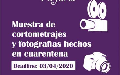 muestra de cortos y fotografías hechos en cuarentena