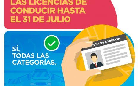 Licencias de conducir vencidas