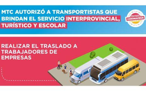 Transporte en Trujillo MTC