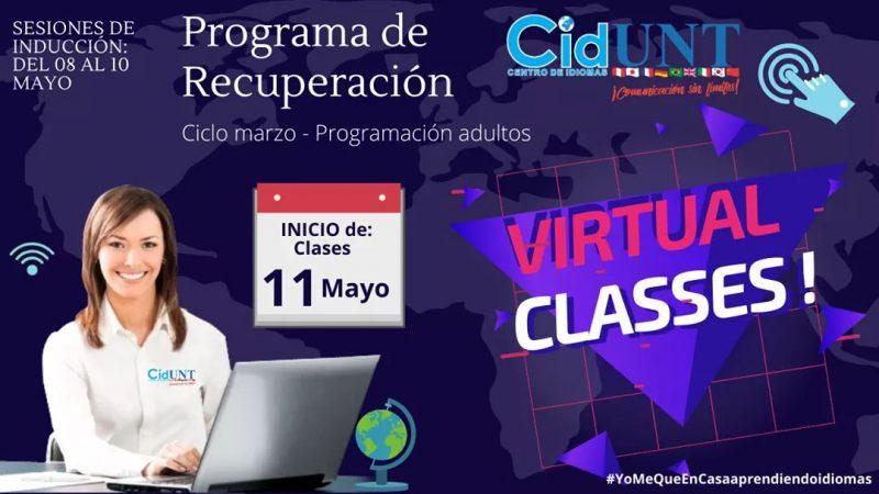 CIDUNT clases virtuales