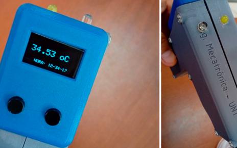 termómetro infrarrojo a bajo costo