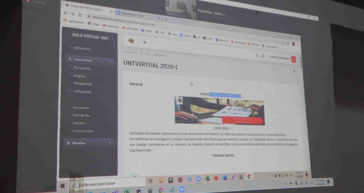 Aula Virtual de la UNT