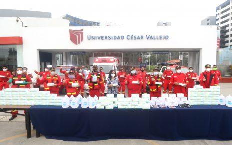 Bomberos voluntarios del Perú UCV