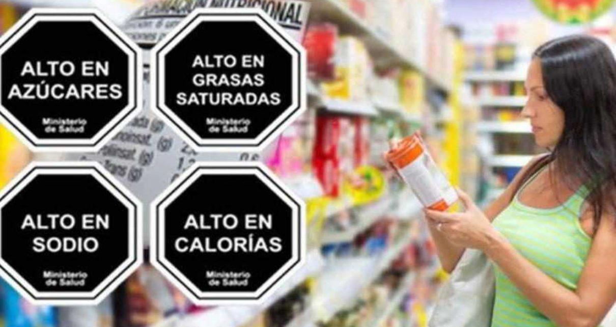 octógonos nutricionales en Perú