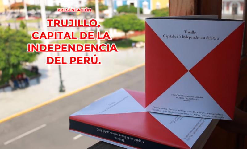 Augusto Rubio Acosta analiza libro Trujillo Capital de la independencia del Perú