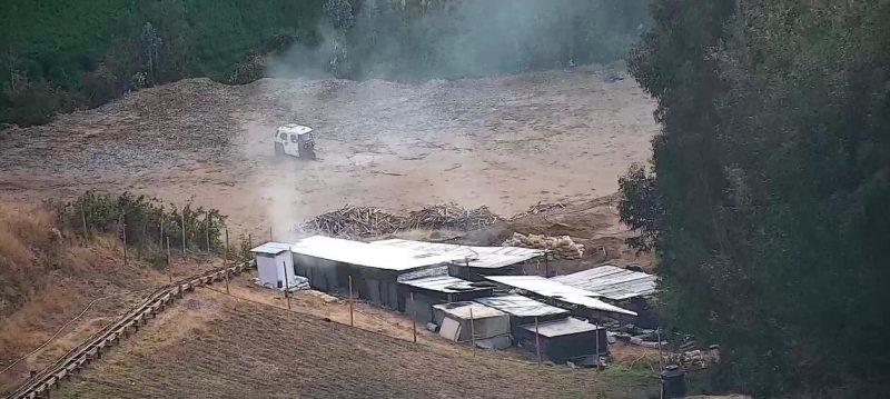 Huamachuco minería ilegal