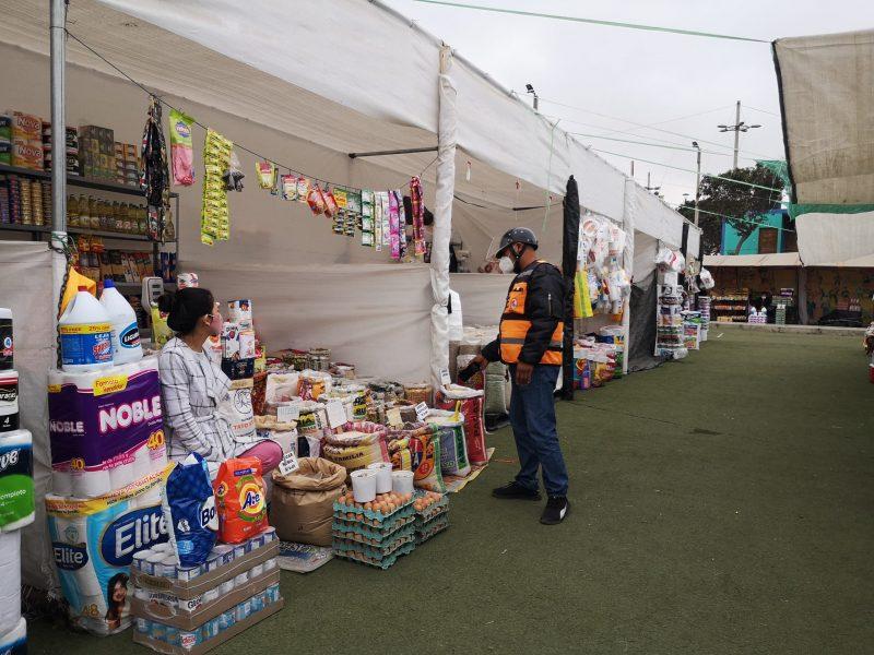 mercados estacionarios de Trujillo COVID-19