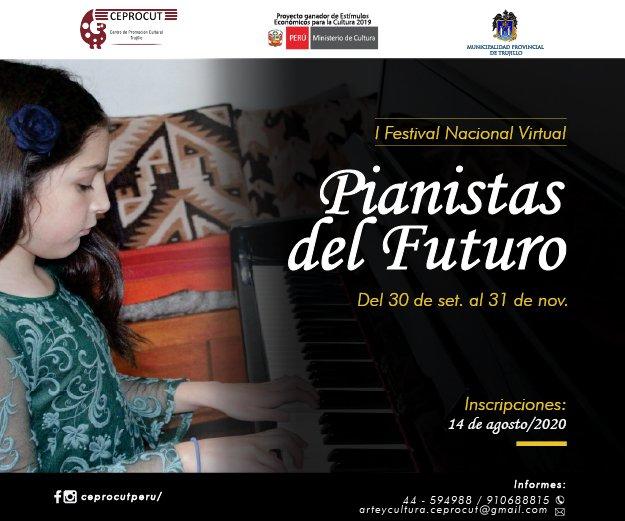 Ceprocut Pianistas del futuro