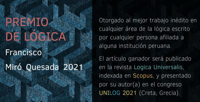 Premio de Lógica Francisco Miró Quesada Cantuarias