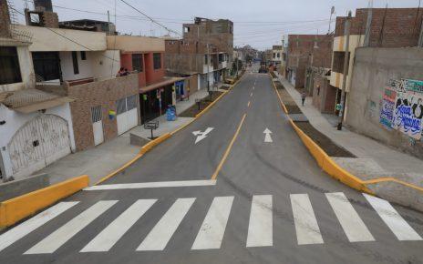 Distritos de Trujillo pistas obras