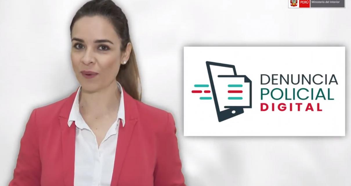 Denuncia policial digital Trujillo