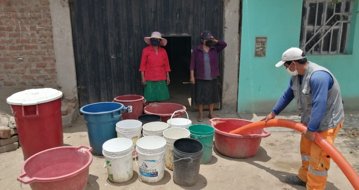 agua potable en Trujillo