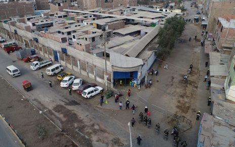 distrito El Porvenir vista dron