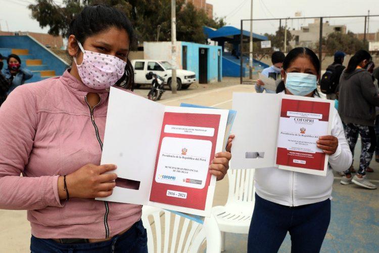 títulos de propiedad en Huanchaco