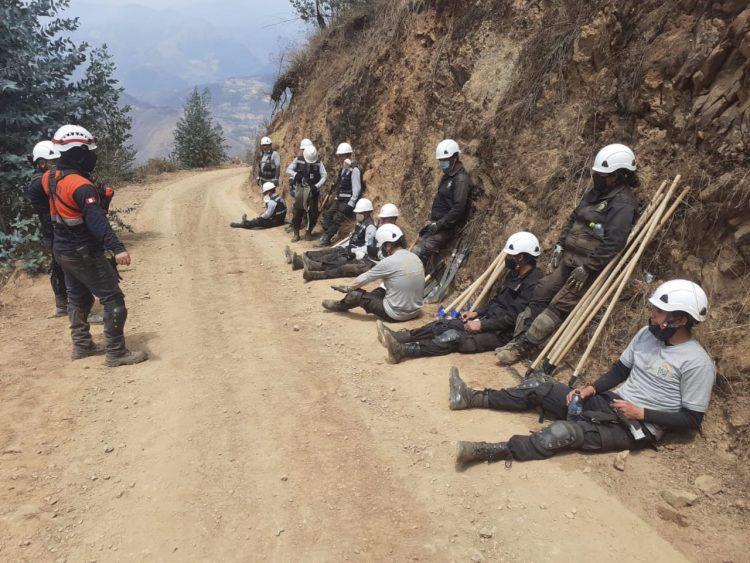 incendios forestales en Otuzco