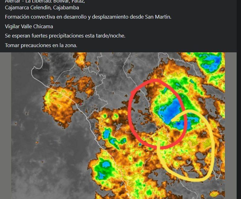 lluvias en Trujillo