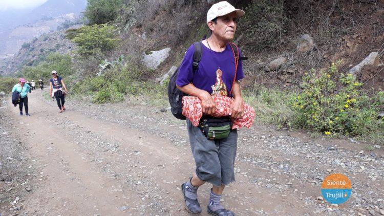 peregrinos en pandemia Otuzco
