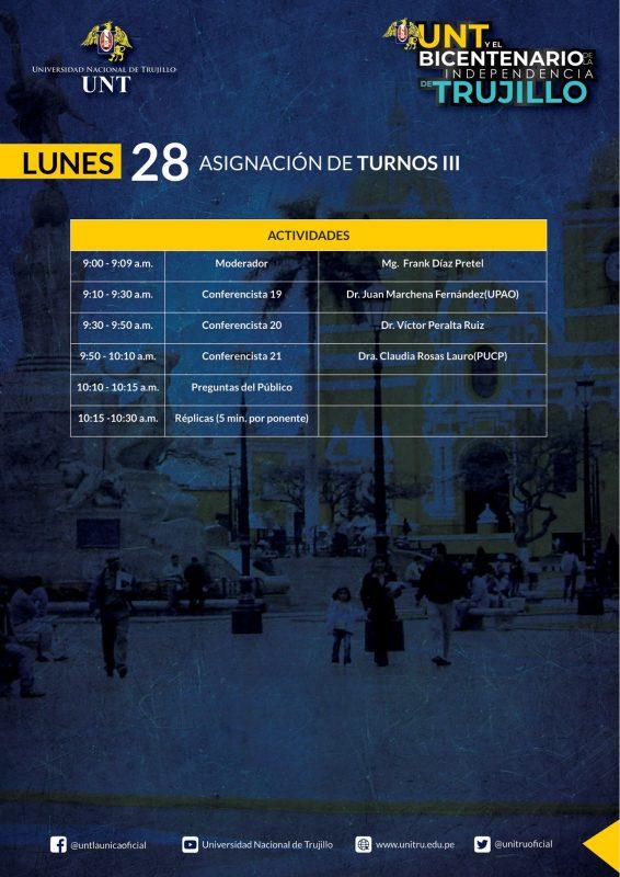 programa UNT Bicentenario Independencia Trujillo 5