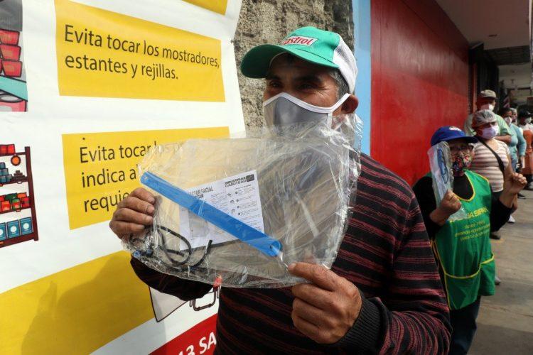 protectores faciales en Trujillo