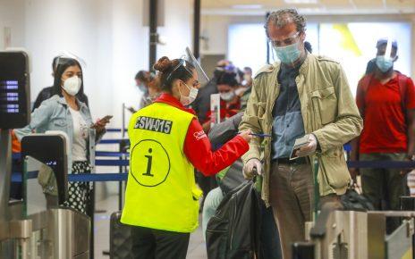 suspensión de vuelos desde Europa