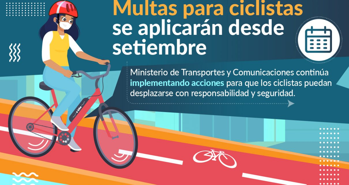 multas para ciclistas
