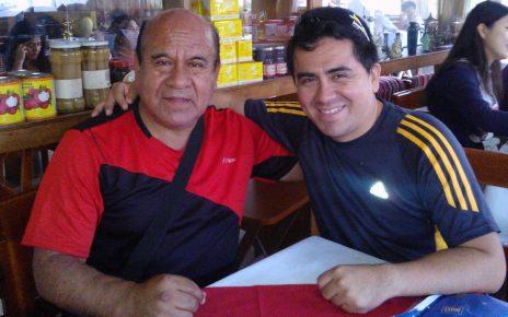 Elmo Bazán y Valery Bazán