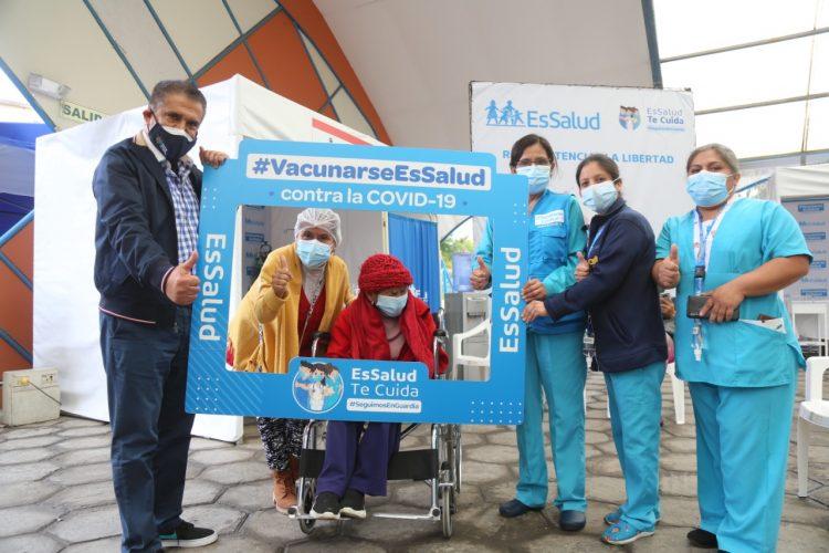 vacunación Covid 19 en Trujillo