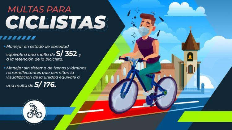 multas a ciclistas