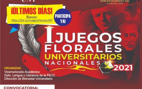 Juegos Florales Universitarios 2021
